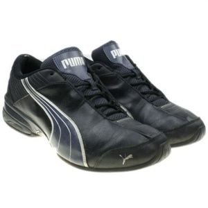 Mens Black PUMA Super Elevate Athletic Trainers